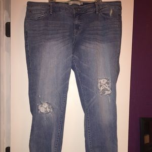 NWT Torrid 20 regular lace jeans